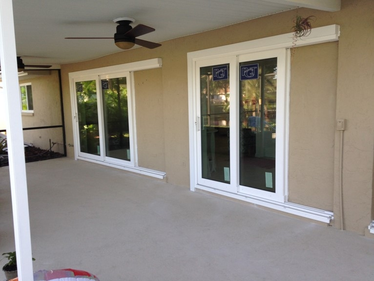 Vinyl Hurricane Impact Windows Lutz