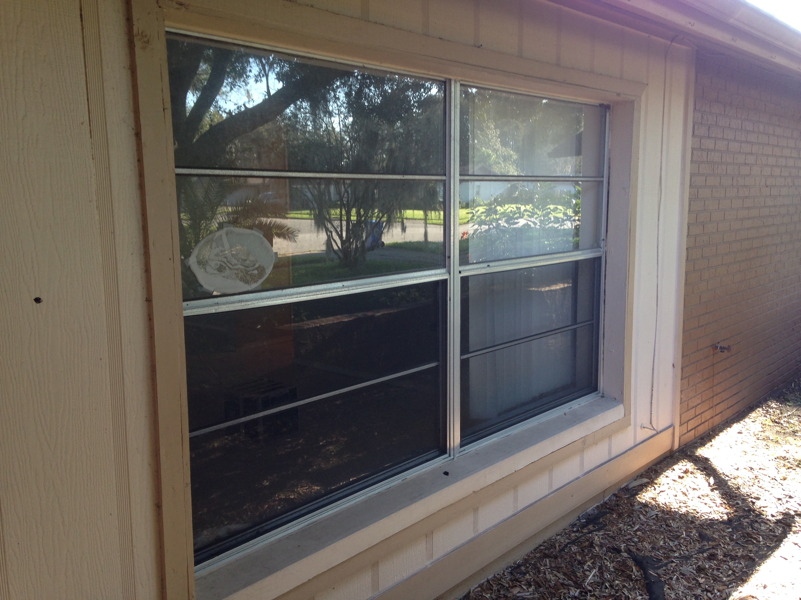 Vinyl Windows Tampa Before