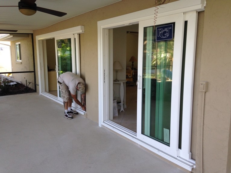 Vinyl Hurricane Impact Windows Riverview
